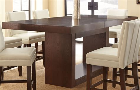 square counter height dining table antonio extendable rectangular counter height dining table