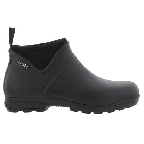 M 906 Jq Black aigle landfor m wellies mens black wellington ankle boots size 7 11 ebay