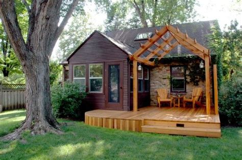 tiny house deck 12 tiny houses with amazing outdoor spaces