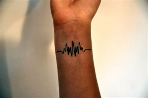 wavelength temporary tattoo frequency tattoo by