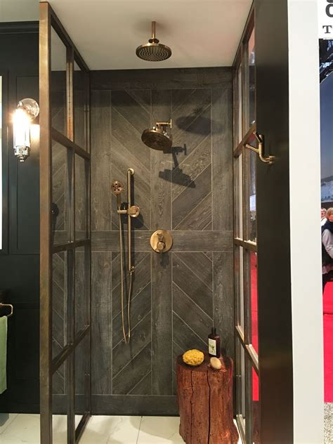 wood tile shower 15 wood tile showers for your bathroom