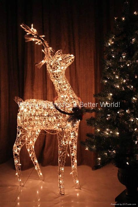 liteup xmas trees and reindeer decoration light tree light santaclaus reindeer led snowman wwslighting