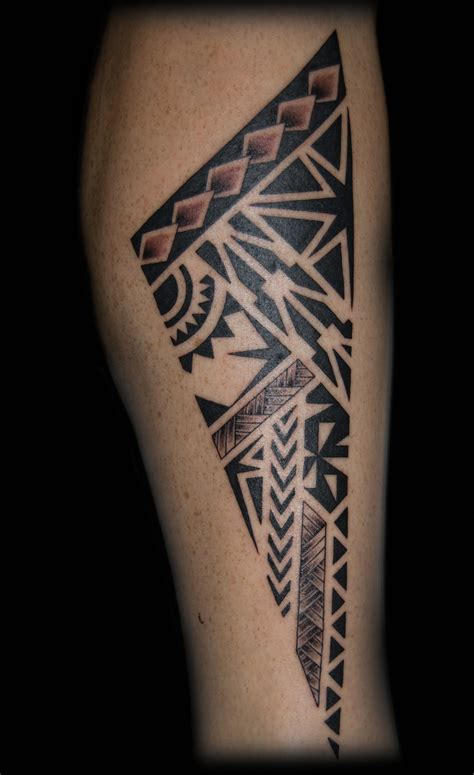 small maori tattoo collection of 25 small maori leg design