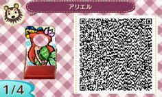 minnie  mickey face cut  boards animal crossing qr