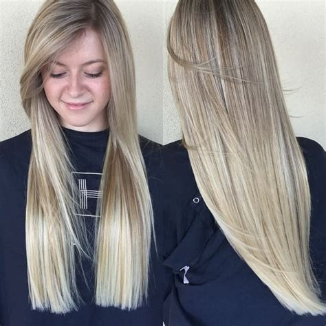 straight blunt haircuts with layers on ends straight blunt haircuts with layers on ends women s blonde