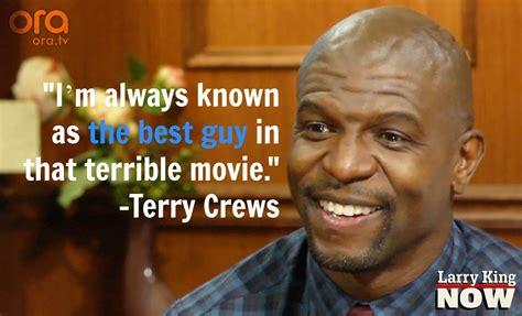 terry crews quotes terry crews talks golden globes gives larry a pecpop