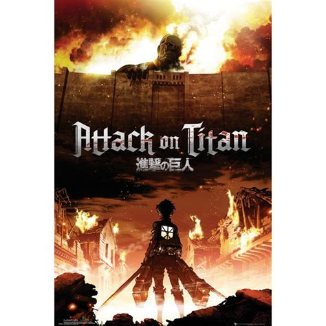 attack on titan series attack on titan tv show poster posters usa
