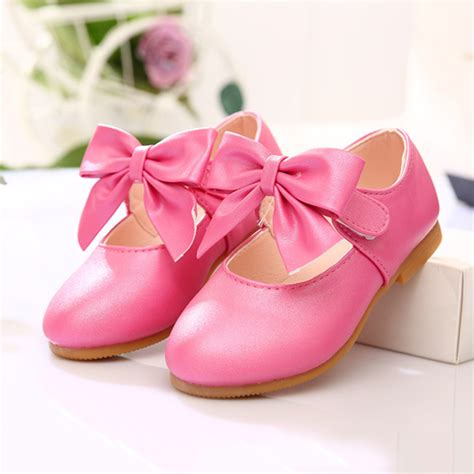 princess shoes 2016 toddler bow princess shoes dress kid flat