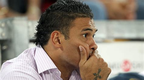 rugby hair cut name justin hodges will stay put on hold the courier mail