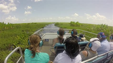 youtube airboat tour everglades port canaveral orlando airboat tour youtube