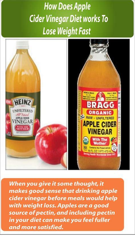 diets plans   apple cider vinegar diet works  lose weight fast apple cider vinegar