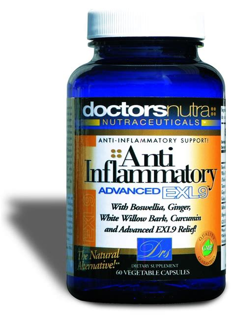 Otc Detox Cleanse by Anti Inflammatory Advanced Exl Relief