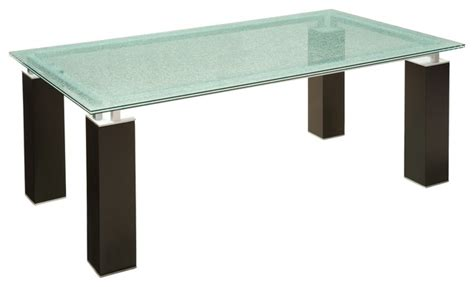 Ritz Dining Table Ritz Glass Dining Table Dining Tables Other Metro By Raymour Flanigan Furniture And