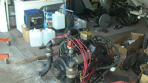 boat engine timing mercruiser 260 5 7 350 chevy setting the timing and