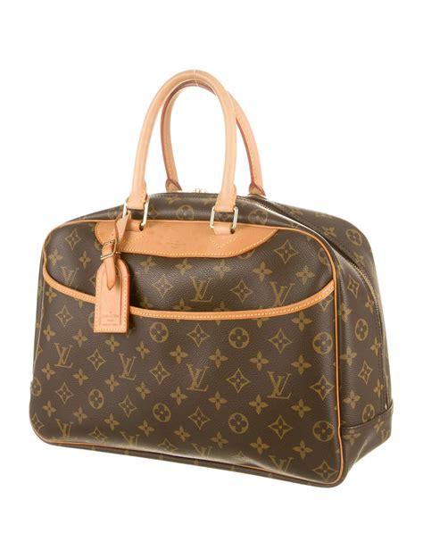 louis vuitton monogram deauville bag accessories