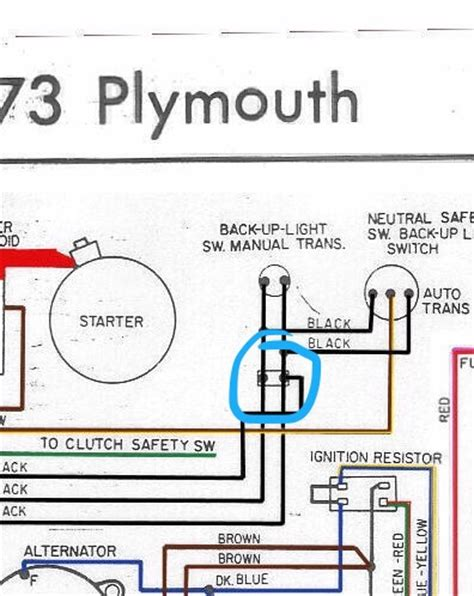 mopar neutral safety switch wiring diagram 727 torqueflite