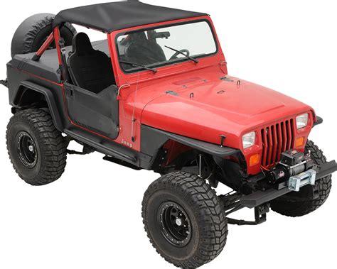 standard jeep wrangler smittybilt standard top for 87 91 jeep wrangler yj quadratec