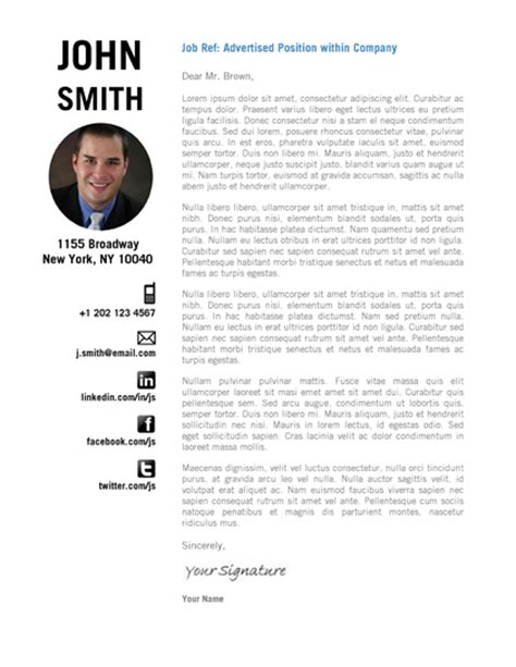 creative cover letter creative resume template trendy resumes