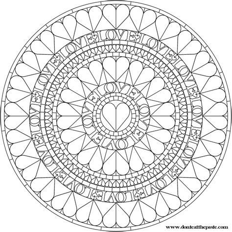 healing mandala coloring pages mandala to color or embroider my mandalas