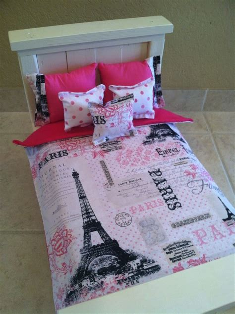doll bedding american girl grace inspired 18 inch doll bedding paris