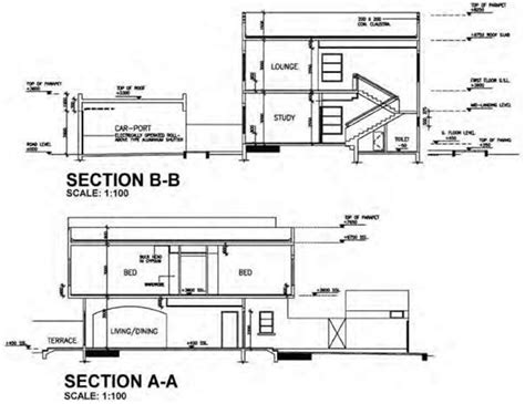 section 13b blueprint layout of construction drawings construction 53