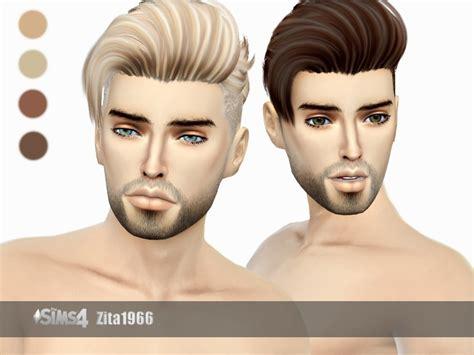 sims 4 guy hair cc zitarossouw s darren hair mesh needed