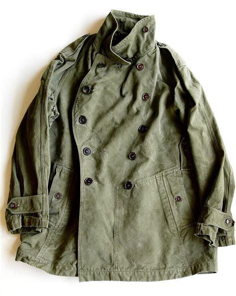 motorbike coats 1955 vintage army motorcycle jacket s