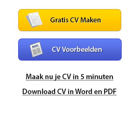 Gratis Cv Sjabloon Downloaden Word cv voorbeeld downloaden 3 gratis cv s downloaden