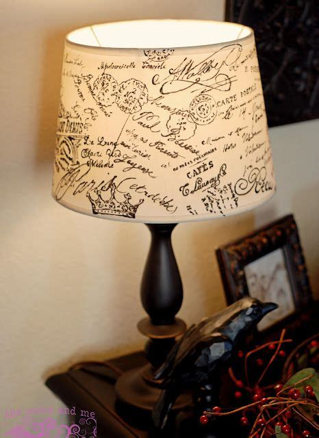 Decoupage Lshade With Fabric - 1000 ideas about script on scripts