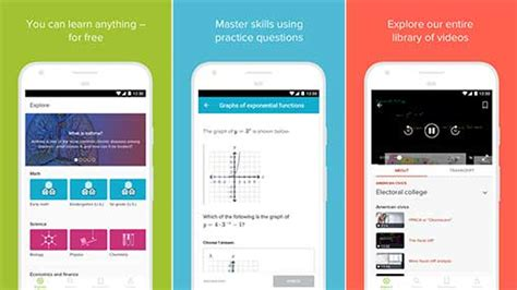 khan academy app for android khan academy 2 6 3 apk for android