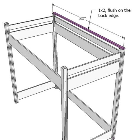 how to build bunk beds ana white how to build a loft bed diy projects