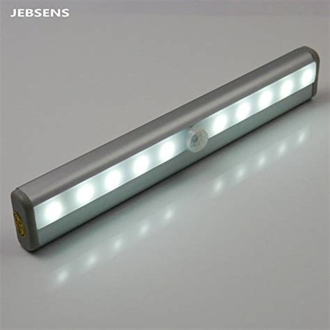 Jebsens New Battery Operated Cool White Automatic Light The Cabinet Lighting Battery Operated