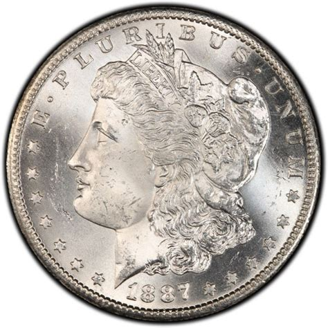 1 silver coin price 1887 silver dollar values and prices past sales