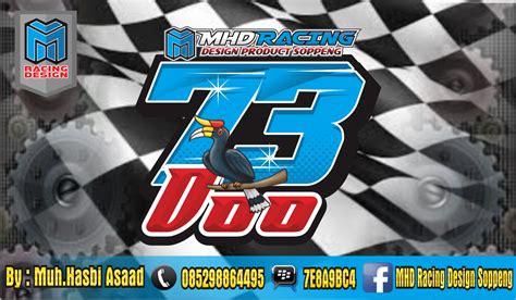 desain gambar nomor mhd racing design soppeng kumpulan desain nomor start