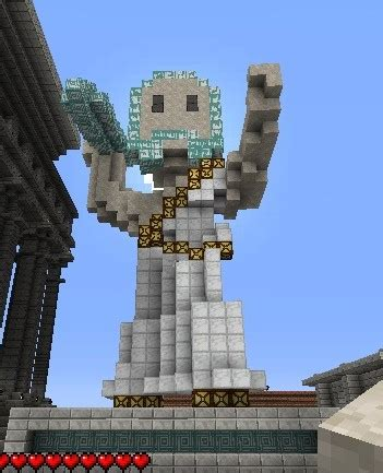 zeus statue minecraft project