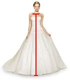 How To Measure Hollow To Floor Measurement For Dress by How To Measure For Your Dress Size