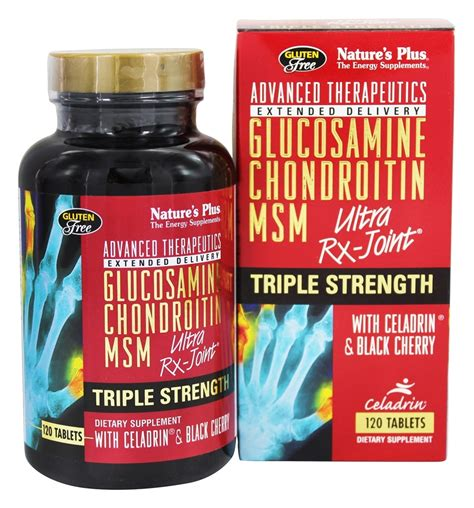 Natures Plus Ultra Rx Joint Msm 90 Tablets buy nature s plus glucosamine chondroitin msm ultra rx joint 120 tablets at luckyvitamin