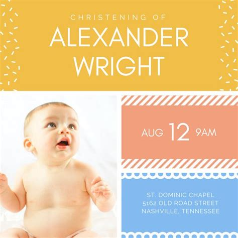 Sample Pics Of Resumes by Customize 142 Christening Invitation Templates Online Canva