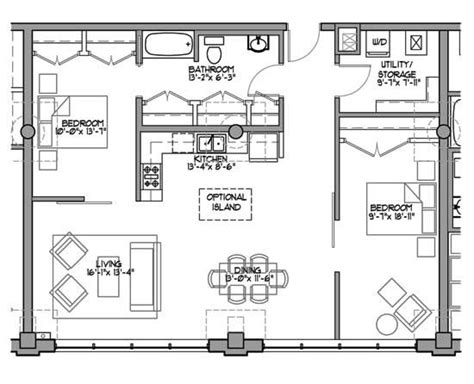 loft home plans 450 best images about small floor plans on pinterest