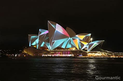 Sydney Opera House Light Show Sydney Opera House Home Light Show