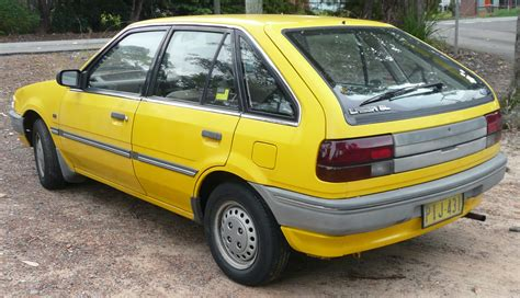 how to sell used cars 1988 ford laser regenerative braking file 1987 1990 ford laser ke gl 5 door hatchback 09 jpg wikimedia commons