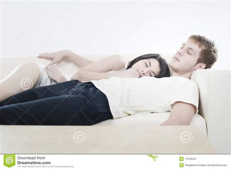 couple on sofa couple stock image image 17918441