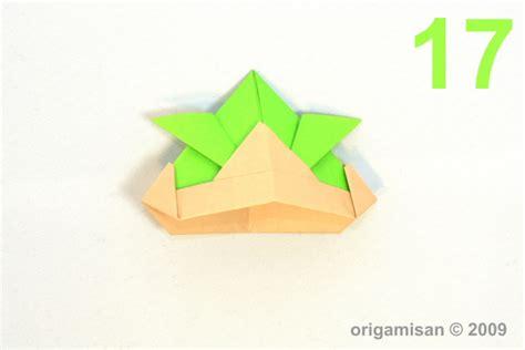 Origami San - origamisan diagrams samurai helmet