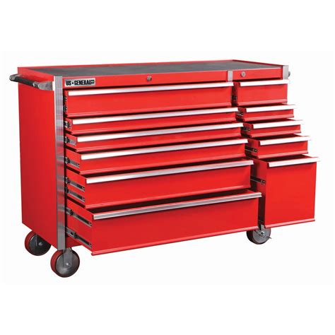 harbor freight us generals 56 tool box chest roller