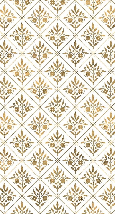 wallpaper iphone emas illustrations pattern gold plant wallpaper sc iphone6splus