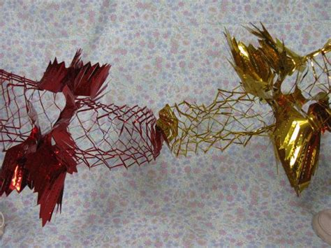 foil decorations foil garlands christmas decorations