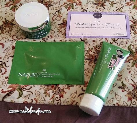 review naruko tea tree series rangkaian skin care
