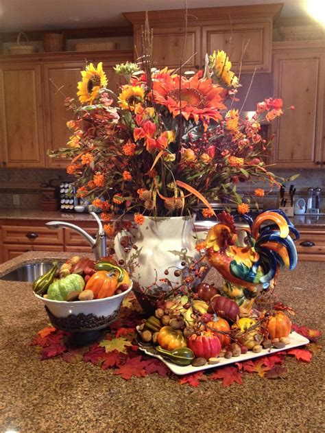 and fall decorations 37 cool fall kitchen d 233 cor ideas digsdigs