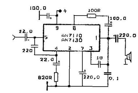 An7106k справочные данные и схемы включения интегральных