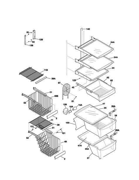 kenmore refrigerator parts diagram kenmore refrigerator refrigerator door parts model
